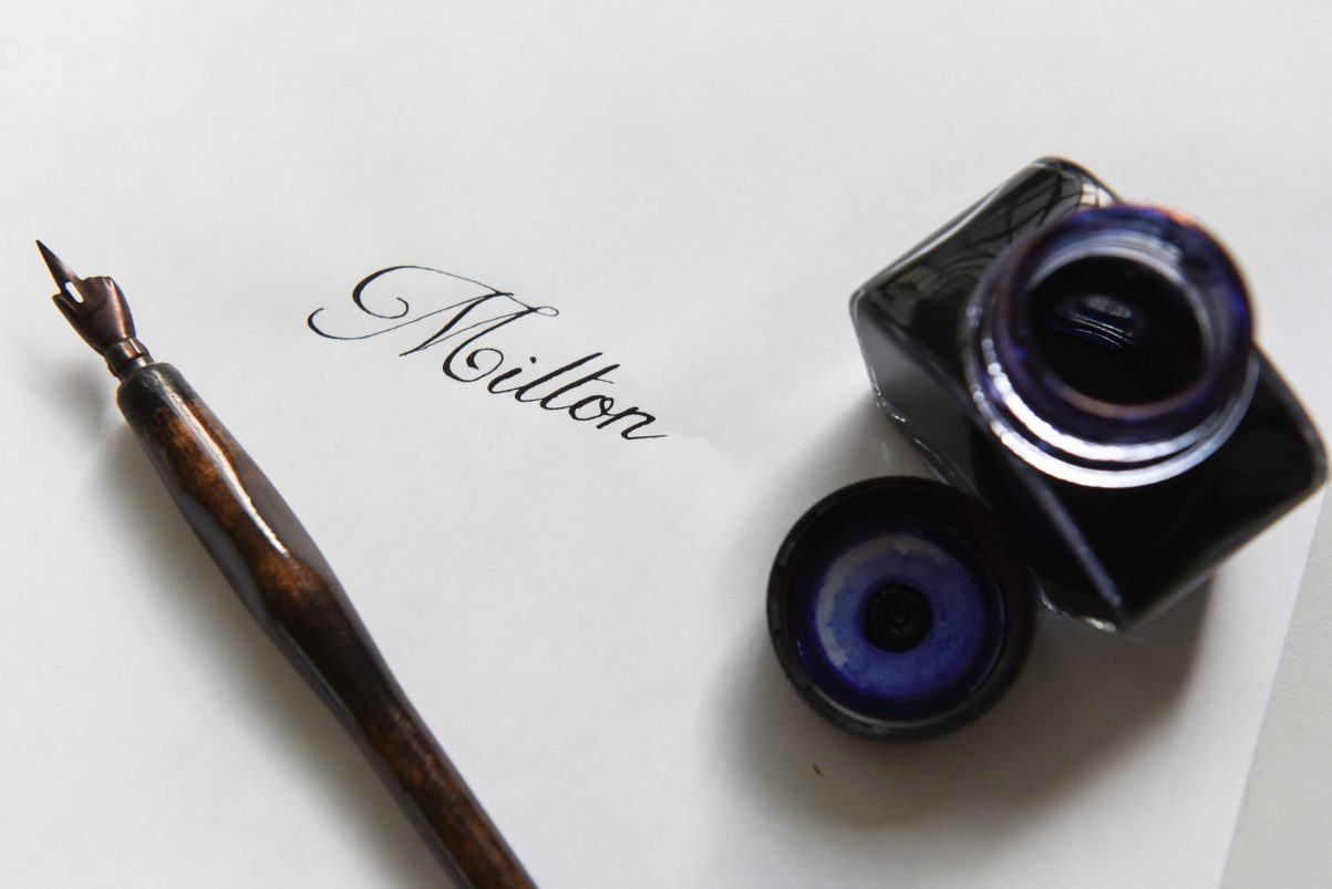 Calligrafia Corsivo Inglese Milton