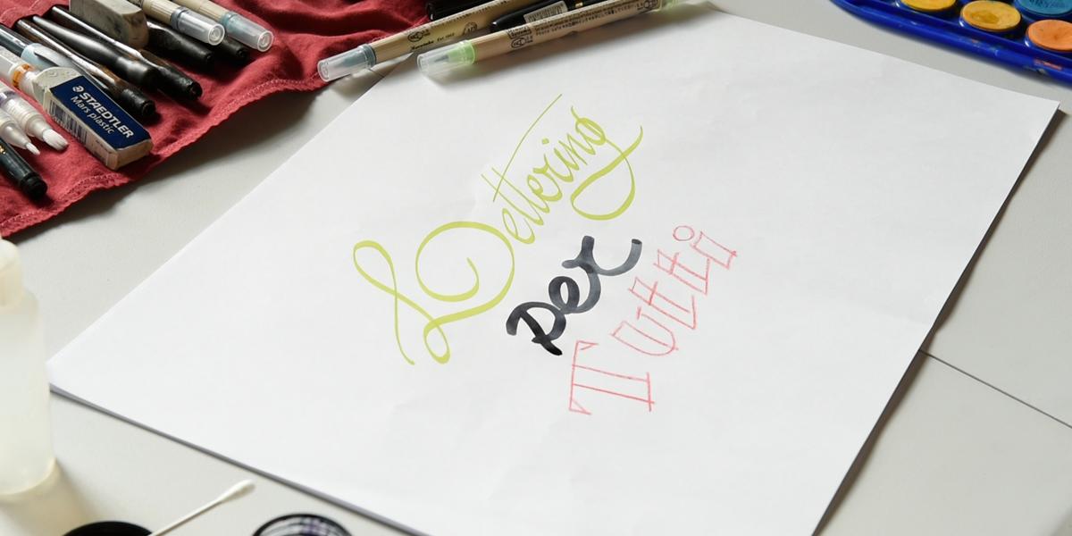 Corso di Lettering Creativo
