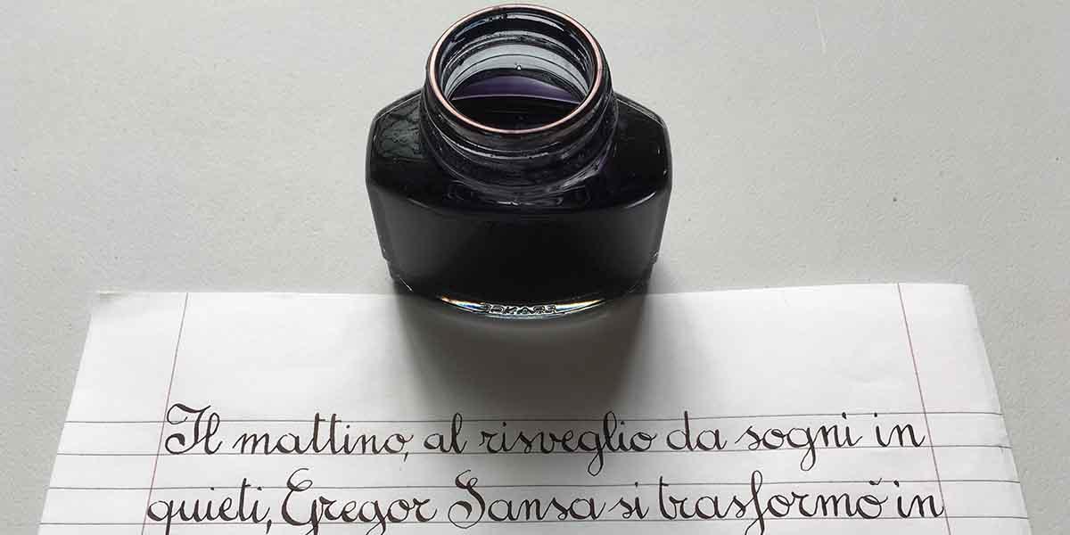 Calligrafia Tondo Italiano