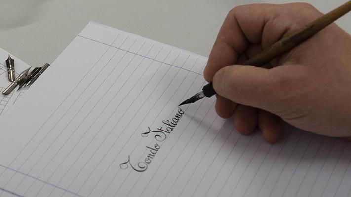 A Piacenza corso di Calligrafia