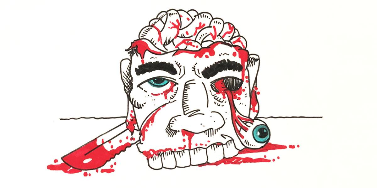 Disegno Splatter