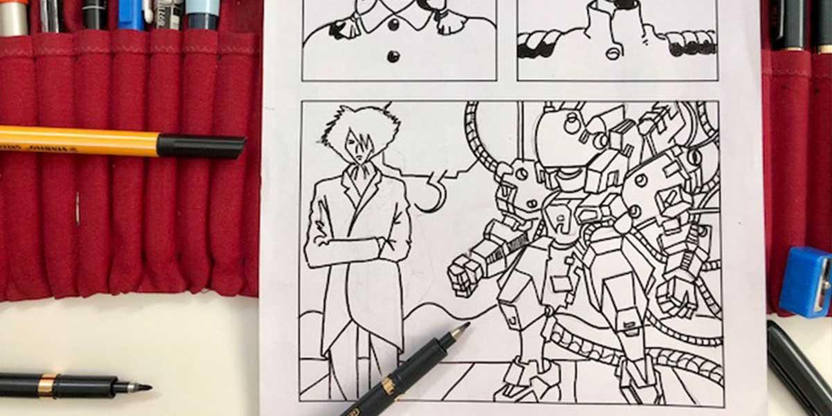 Disegno a Fumetti Manga