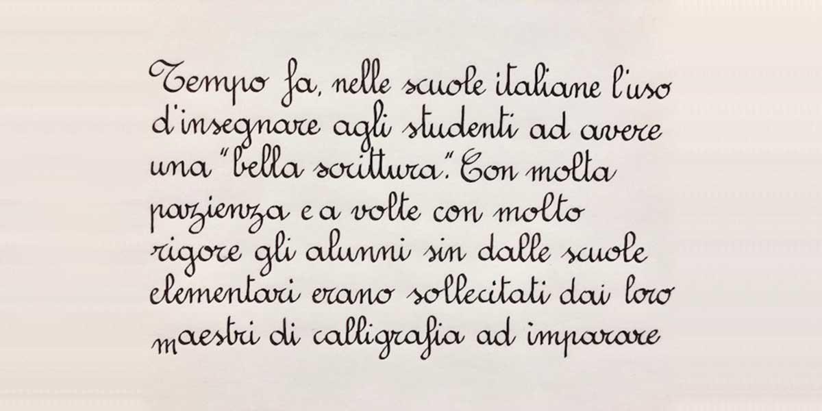 Corso di Tondo Italiano