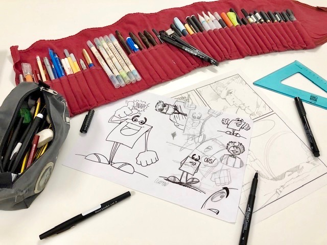 Disegno e narrazione a fumetti