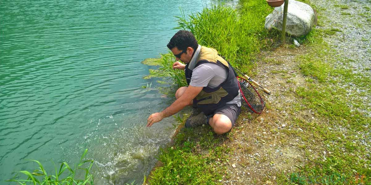 Corso di pesca Milano Darsena