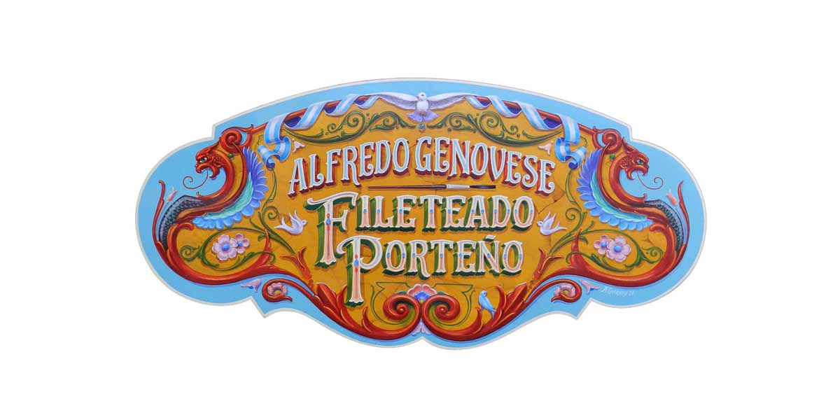 Arte Fileteado Porteno