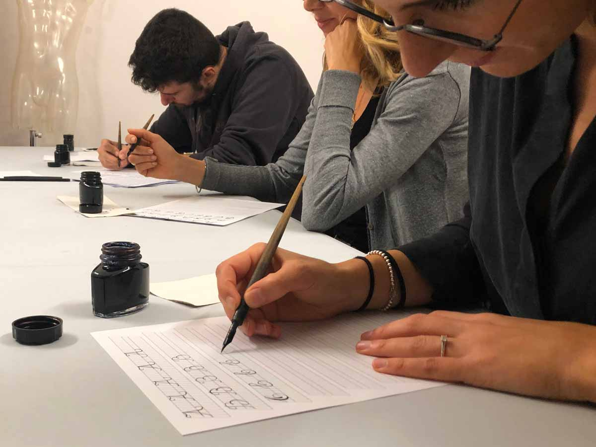 Imparare la Calligrafia Inglese a Milano