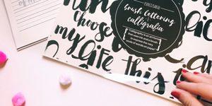 corso brush lettering milano